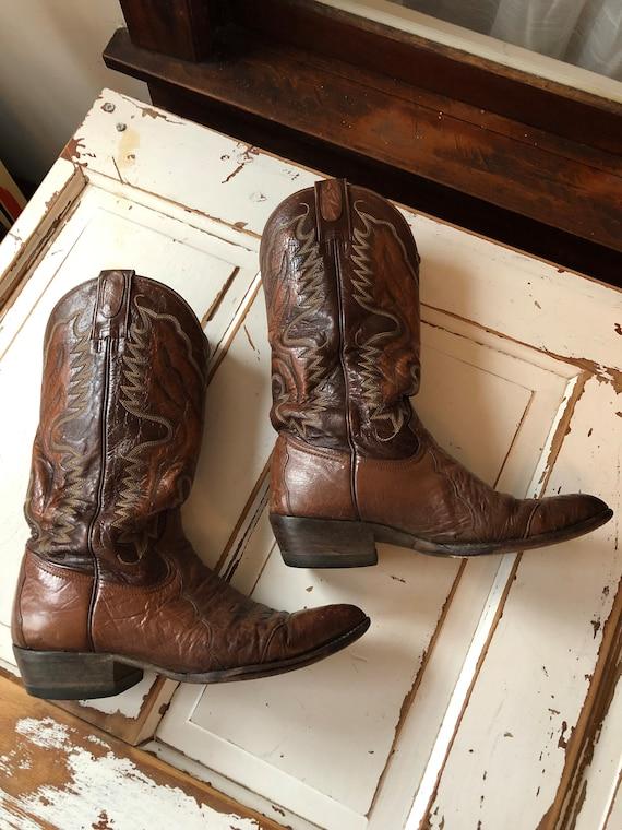 Vintage 1990's Cowboy Boots