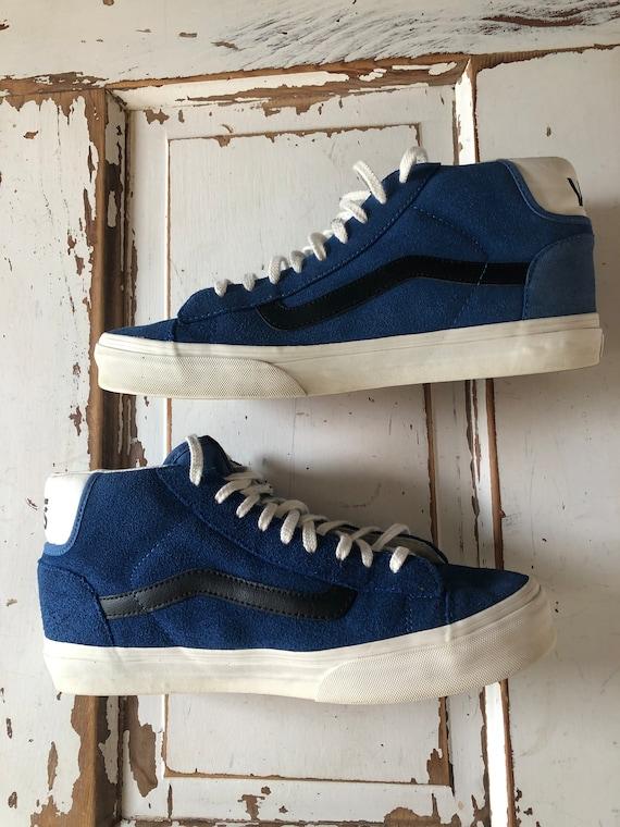 Vintage 1990's Vans High Top Sneakers