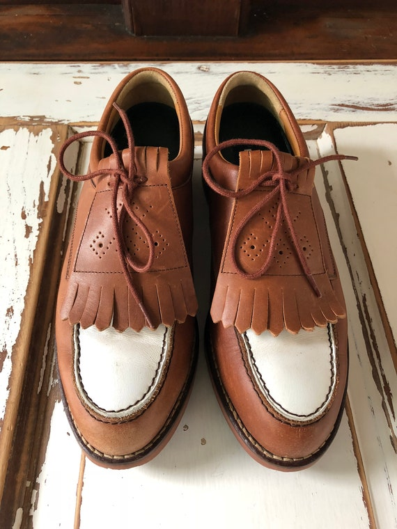 Vintage 1990's Polo By Ralph Lauren Golf Shoes