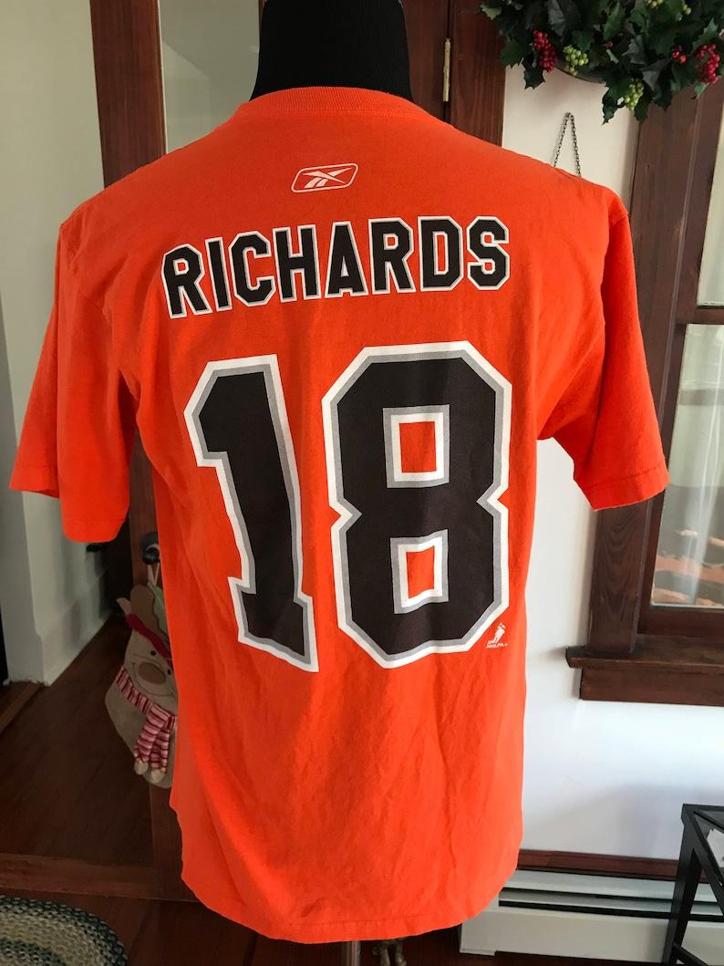 0102be2230dd7 Philadelphia Flyers NHL Reebok T Shirt #18 Richards