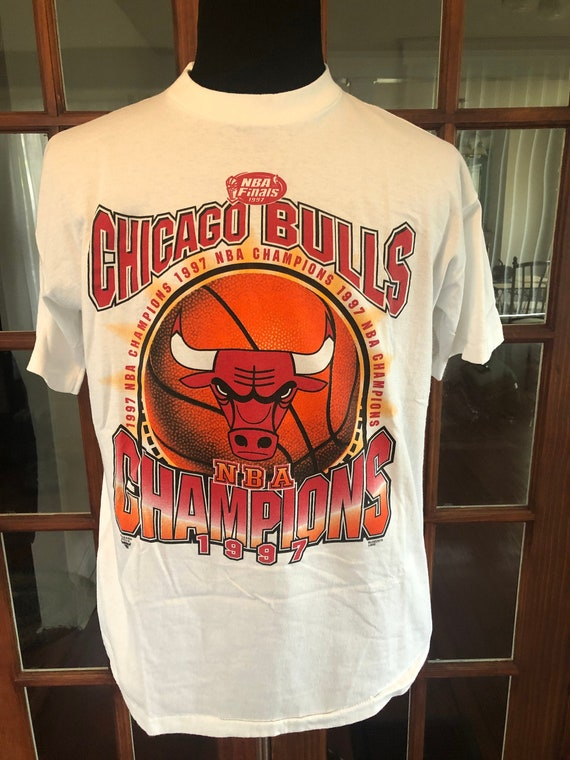 Vintage NOS 1997 Chicago Bulls Championship T Shir