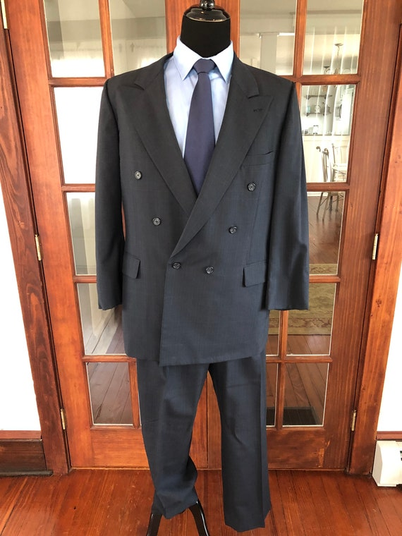 Vintage 1990's Double Breasted Sopranos Style Suit
