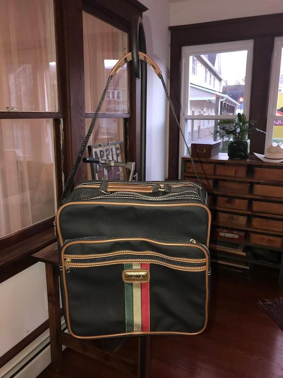 Vintage 1980\u2019s Resmed Vinyl Travel Carry On Tote Bag