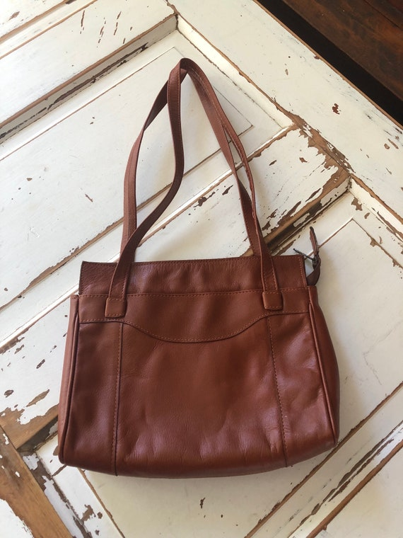 Vintage 1990's Genuine Leather Brazilian Purse