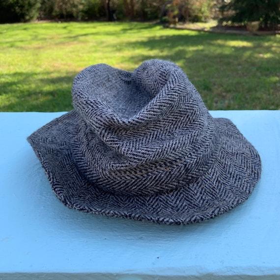 Vintage 1970's Totes Brand Fedora Hat