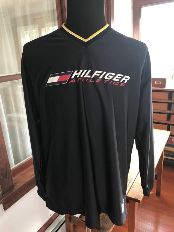 Vintage 1990's Tommy Hilfiger Athletics Long Sleev