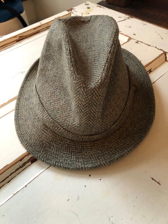 Vintage 1970's Men's Fedora Hat