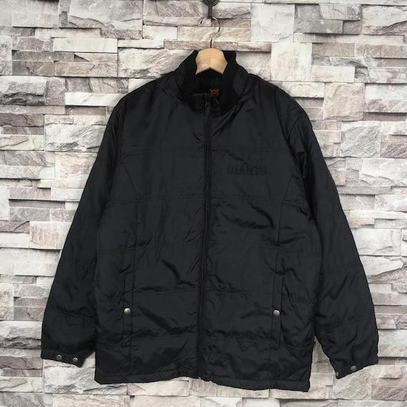 Vintage YOMIURI GIANTS Quilted Puffer Jacket Black