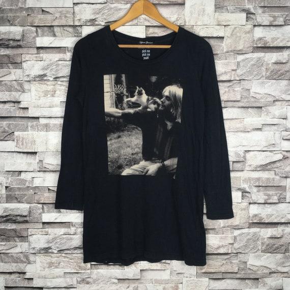 Hysteric Glamour X Kurt Cobain band Womens T-shirt
