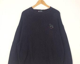 20% OFF Vintage CHAPS RALPH Lauren Sweatshirt EEmbroidered Logo At Chest