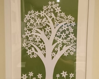 Custom Paper Cut Picture