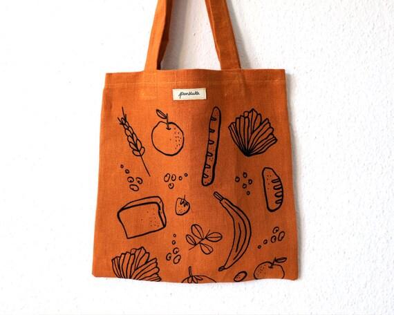 Good Food // Hemp Tote Bag