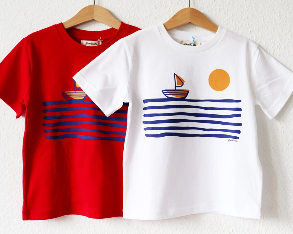 bfaa17354 Organic T-Shirt for kids // Sometimes the Sea