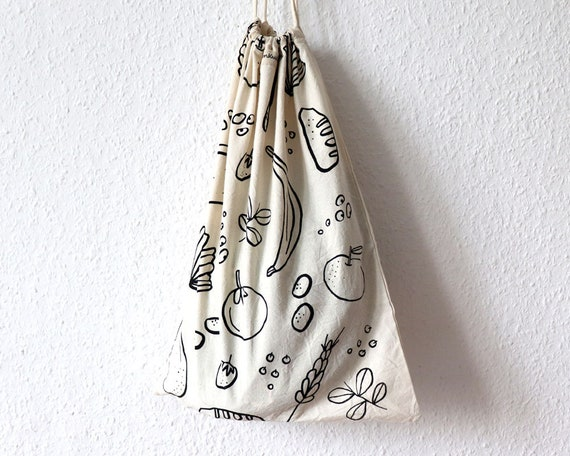 Good Food // Cotton Bread Bag