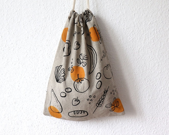 Good Food // Linen Bread Bag