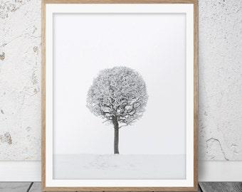 Wall art, Winter art, Winter print, Winter decor, Snow photography, Home decor, Winter photography, Snow print, Winter prints, Digital, 074