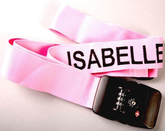 Personalised TSA Approved Luggage Strap, suitcase strap, baggage strap, luggage strap, personalised luggage strap, case strap, bag strap