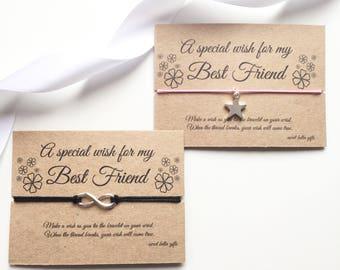 Best Friend Wish Bracelet, Best friend gift