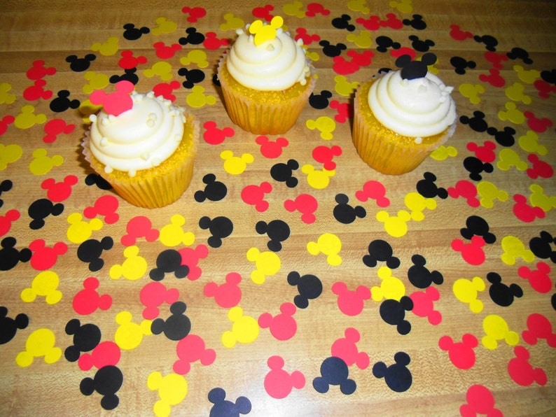 Mickey Mouse Confetti 1st Birthday Party
