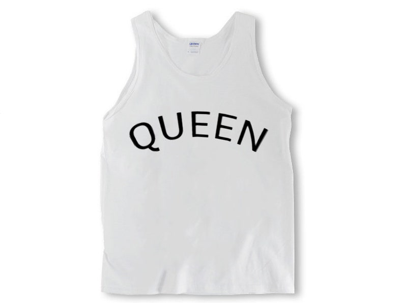 6b8790f4fa Queen Tank Aesthetic Clothing Inspirational Streetwear