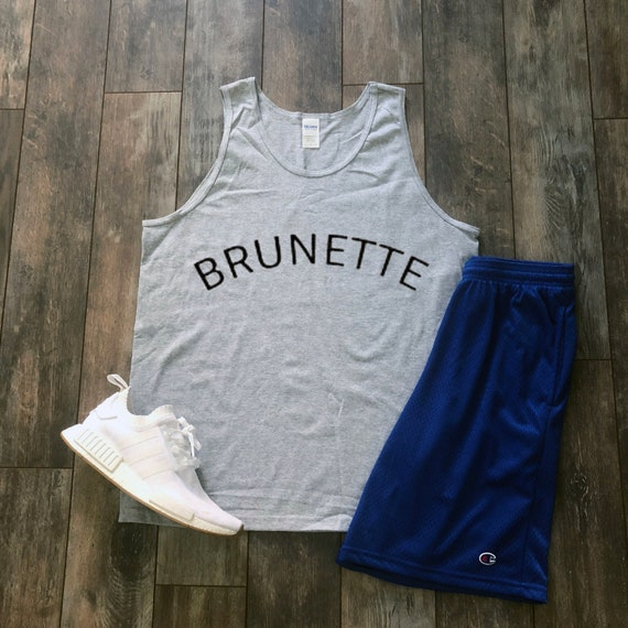 Brunette Tank Aesthetic Clothing Hippie Clothes Streetwear Etsy