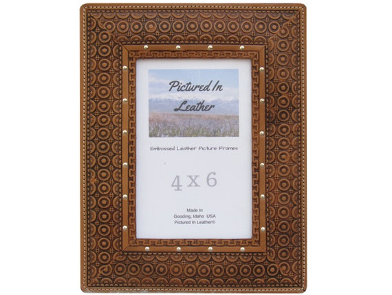 4x6 Leather photo frame, 4x6 leather picture frame for mom, 3rd leather anniversary gift, birthday gifts for mom, leather gifts for her, him