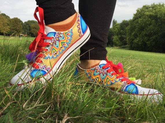 Peint chaussures vans personnalisé converse sur mesure toile sur mesure chaussures formateurs personnalisé personnalisé sneakers personnalisée coups