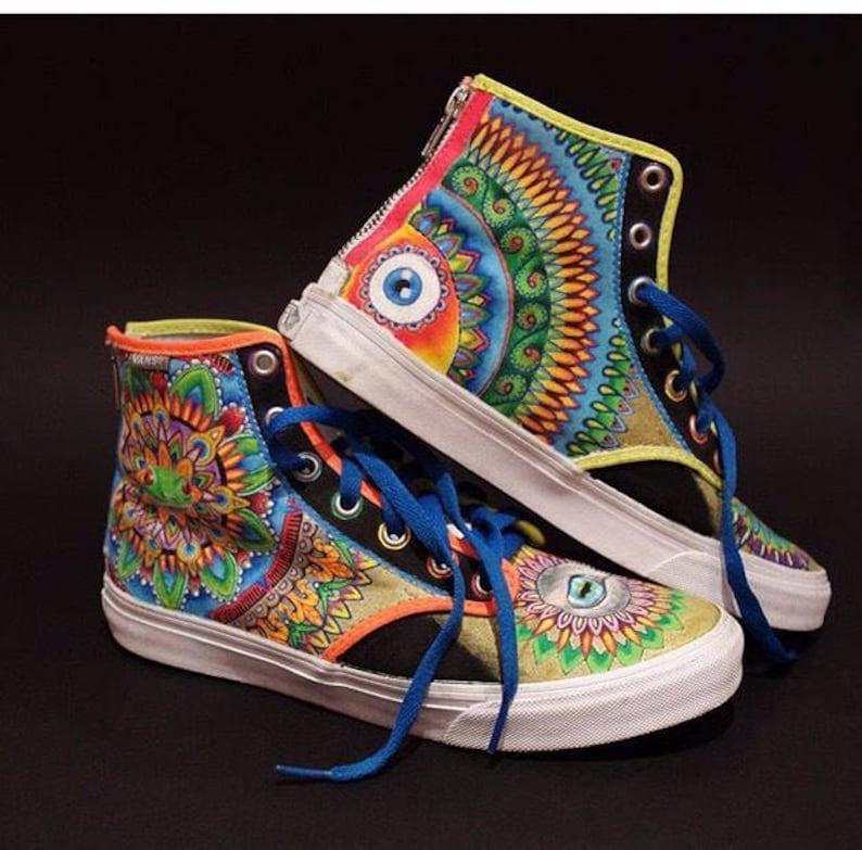 Custom handpainted shoes custom kicks custom sneakers custom  b26cb8a7d