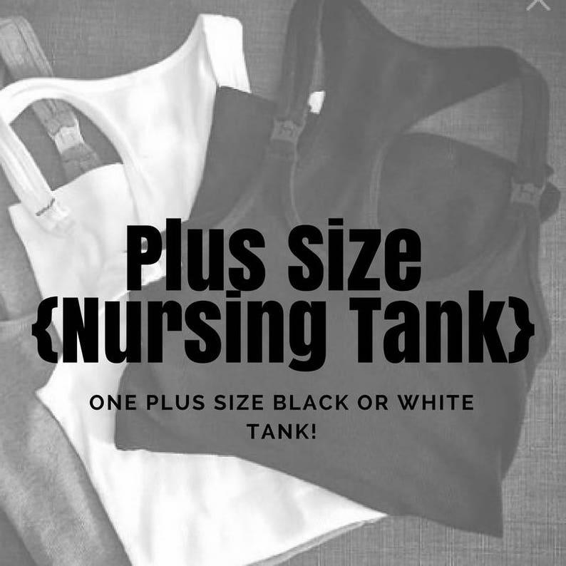 3e4bda682c871 Plus Size Nursing Tank XL ONLY    Maternity    Breastfeeding