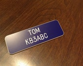 Custom engraved name badg...