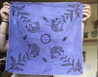 Yarrow Cloth // Altar Cloth // Bandana // Wall Hanging
