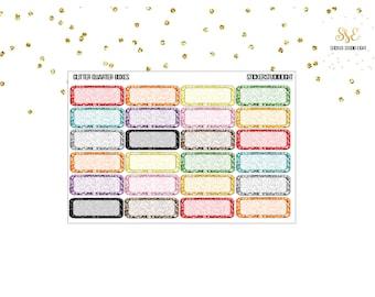Multi Color Glitter: Quarter Boxes