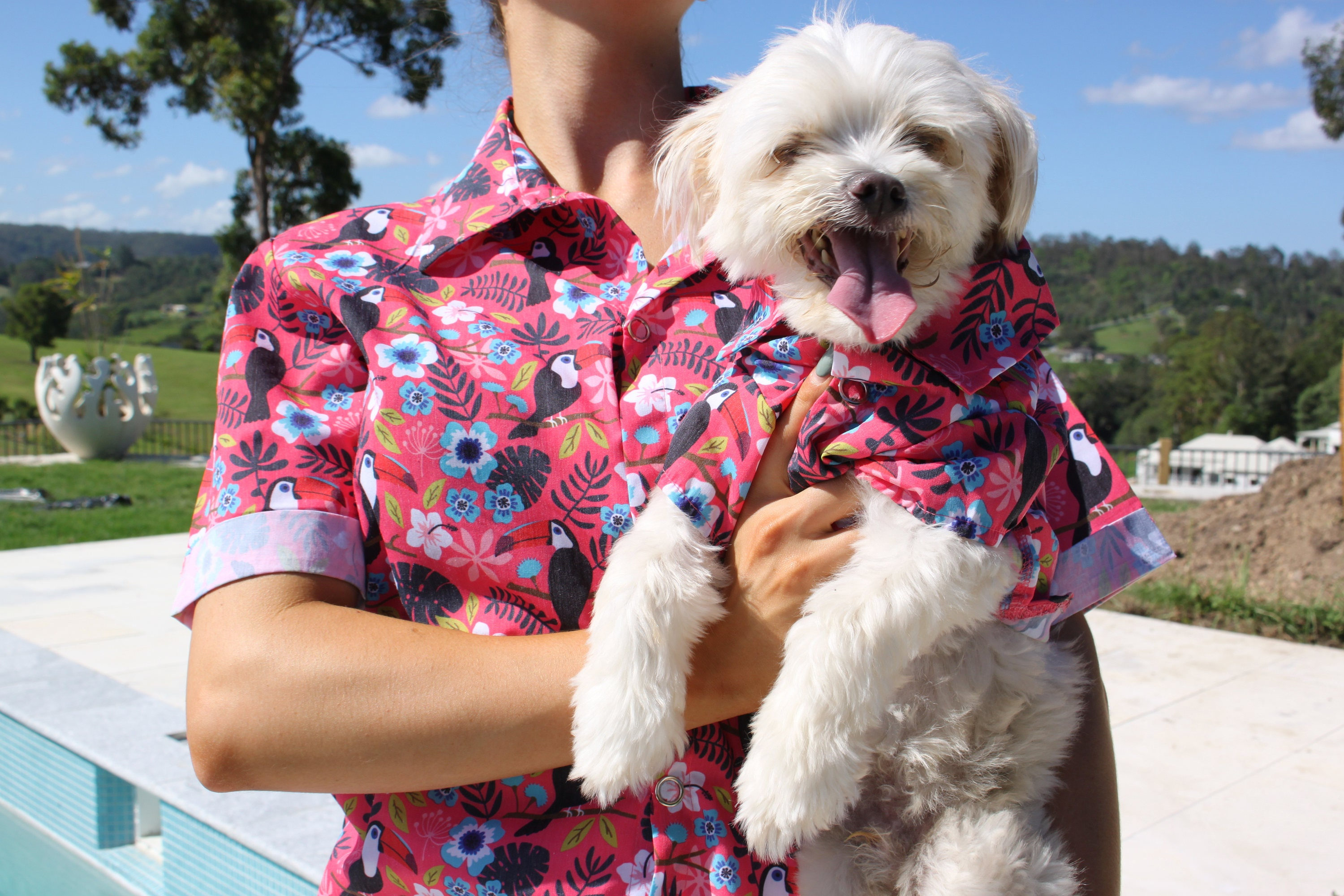 aaa45d5d Hawaiian T Shirts For Dogs - DREAMWORKS