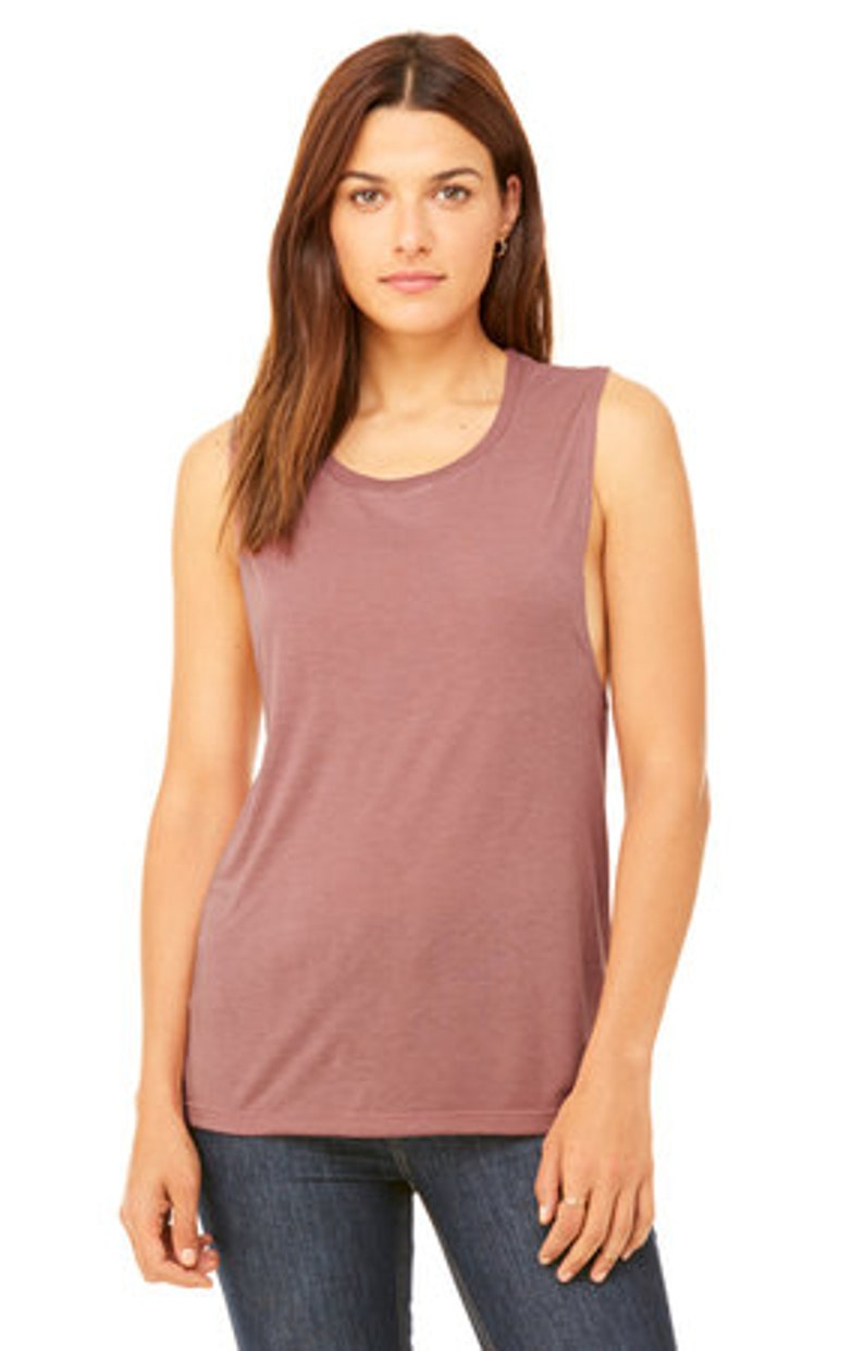 Bella Canvas Tank Womens Summer Tank Summer Gift Muscle Tank Vacation Mode Vacay All Day | Gift for Women Vacation Tank