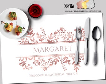 paper placemats template wedding placemats printable etsy