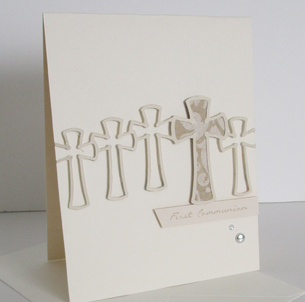 First Communion Confirmation Cards Etsy