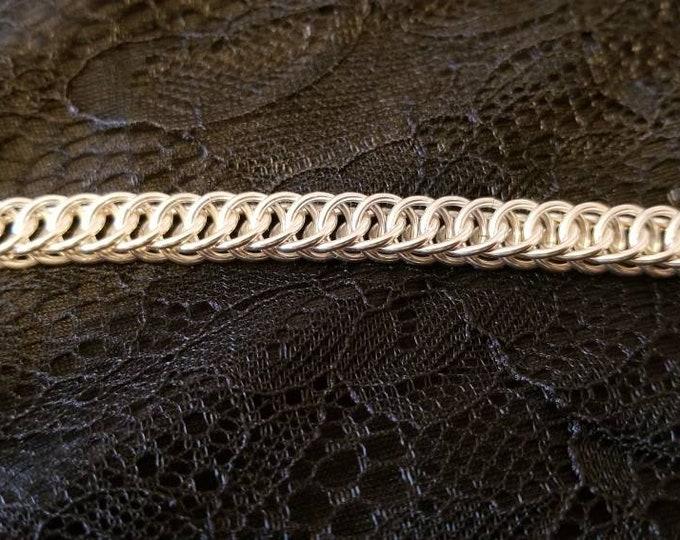 Handmade Sterling Silver 925 Half Persian 4-in-1 Bracelet