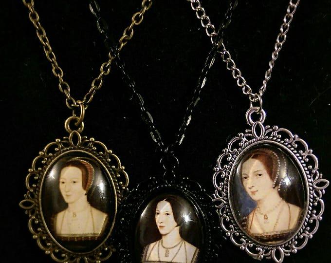 Anne Boleyn Portrait Chain Necklace
