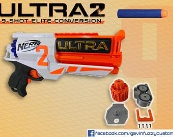 Nerf Ultra 2 9-Shot Elite Conversion Kit