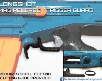 Nerf Longshot Mag Release / Trigger Guard