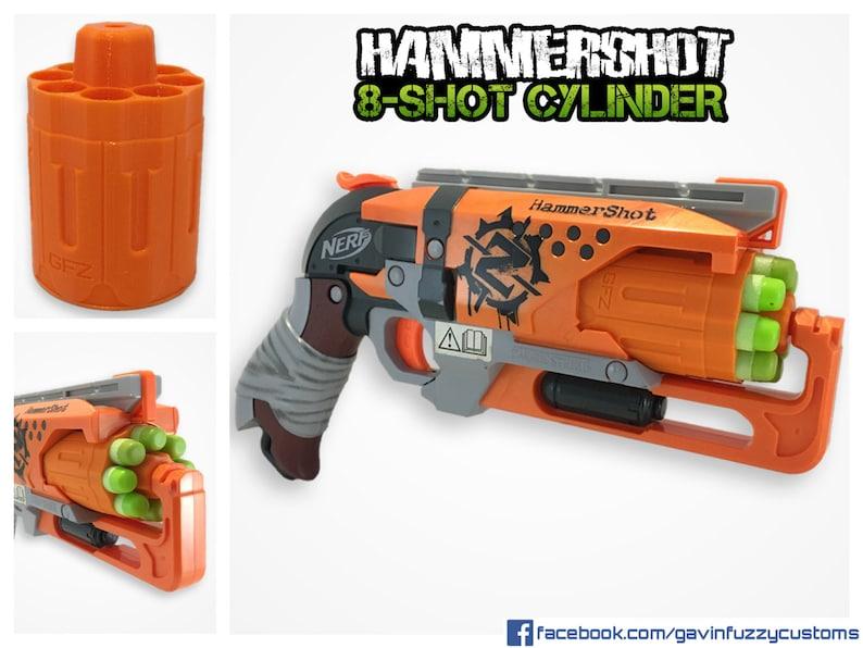Nerf Hammershot 8-Shot Cylinder image 0