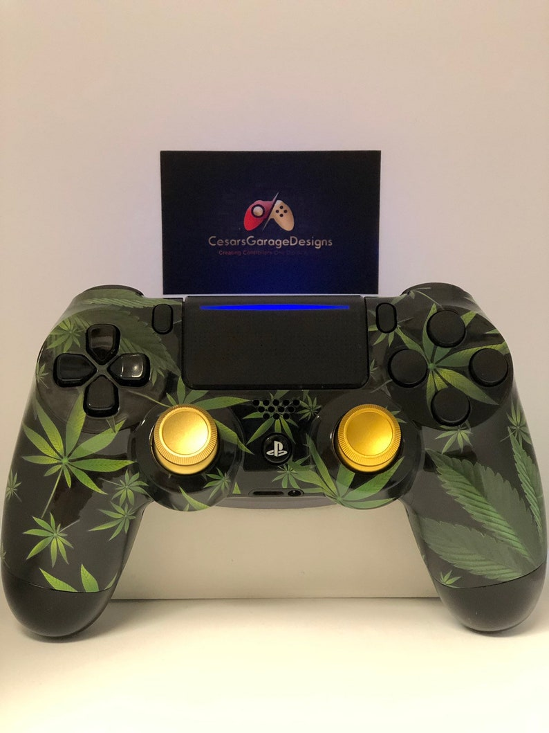 4/20 Weed Ps4 Controller