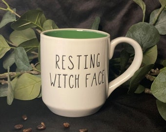Halloween Mug Trio | Amuck, Resting Witch Face, Witch Please