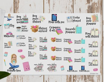Planner Stickers for Planning Time