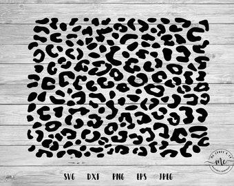 Cheetah Print Svg Etsy