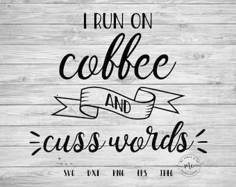 Caffeine Queen SVG Coffee Quotes Funny Svgs Coffee Lover