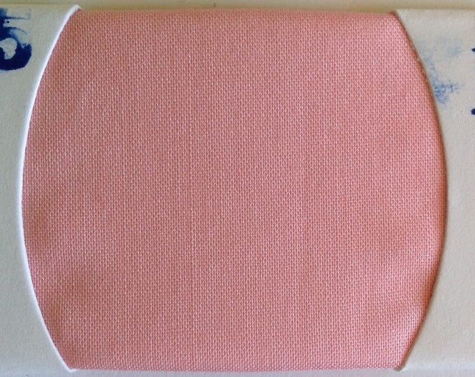 Plain cotton lawn fabric, mid pink no35