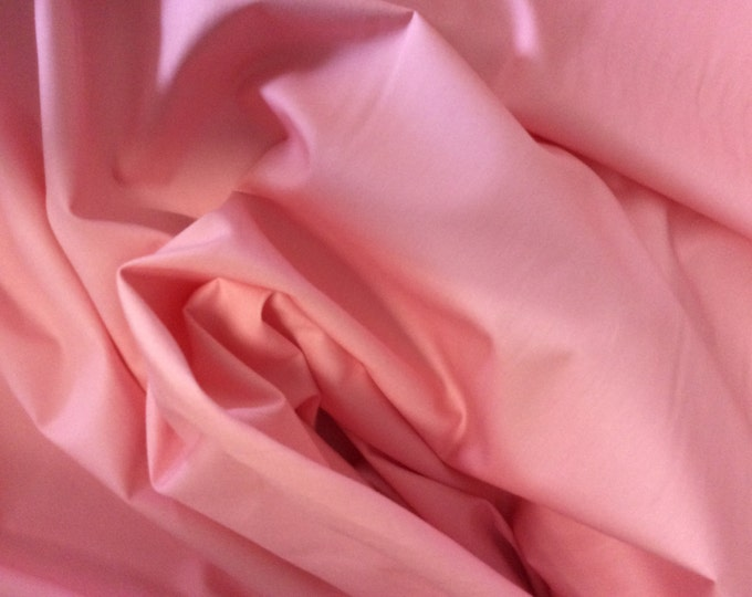 High quality cotton poplin dyed in Japan. Pink no8