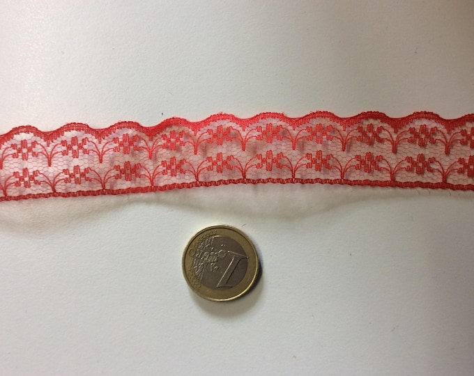 Lace trim sold by the meter