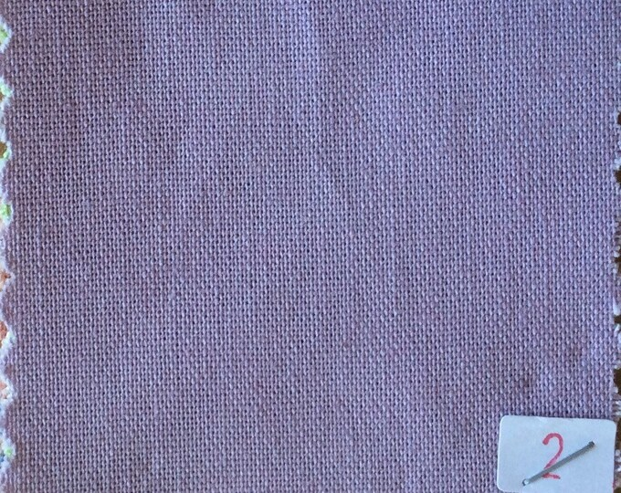 High quality soft cotton canvas dyed in Japan, lilac nr2